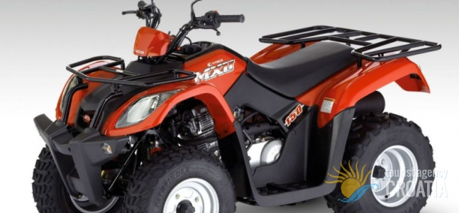 Rent-a-ATV quad MXU 150 3 red