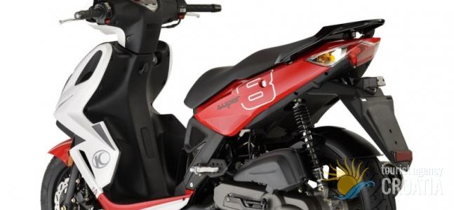 Rent-a-scooter Super 8 50