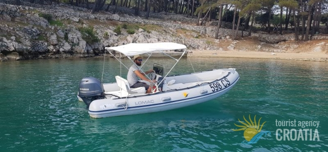 RENT-A-BOAT INFLATABLE BOAT LOMAC OK 520